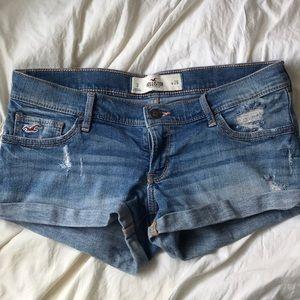Low Rise Hollister Mini Shorts